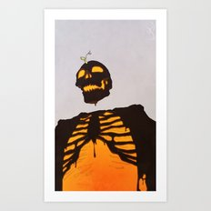 toxic love Art Print