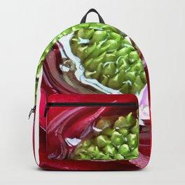 Bromeliad Bloom by Genevieve Backpack