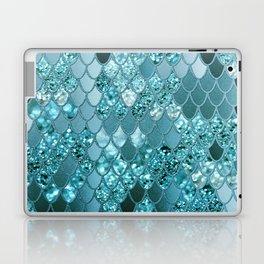 Mermaid Glitter Scales #4 #shiny #decor #art #society6 Laptop & iPad Skin