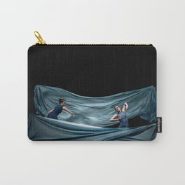 Dancing in rough blue waters Carry-All Pouch