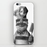 chef iPhone & iPod Skins featuring Swedish Chef by axemangraphics
