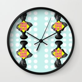 Twerk for me Wall Clock