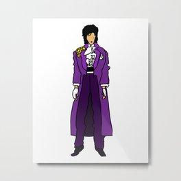 Ultraviolet Purple One 5 Metal Print