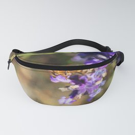 Bee on lavender Fanny Pack