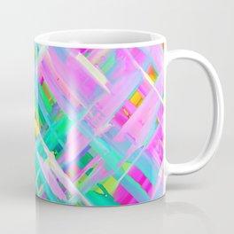 Colorful digital art splashing G473 Coffee Mug