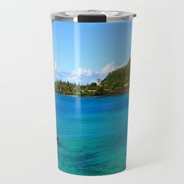 Waimea Bay ... By LadyShalene Travel Mug