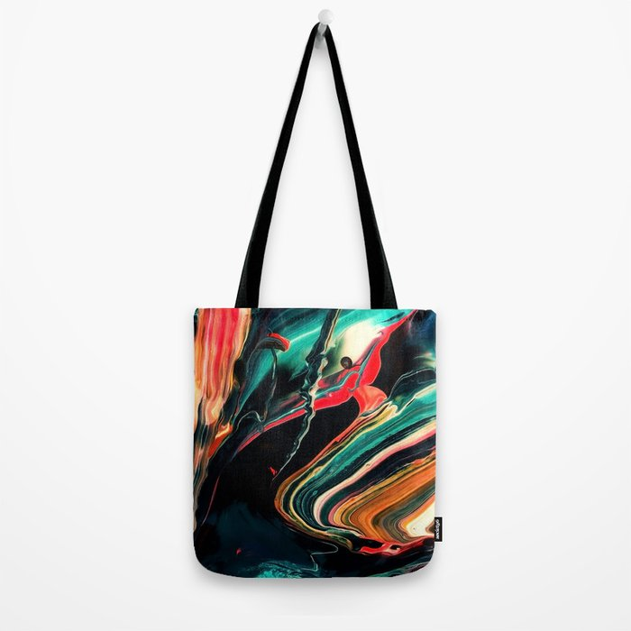 ABSTRACT COLORFUL PAINTING II-A Tote Bag