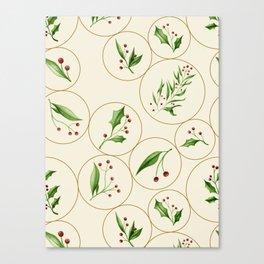 Berries Baubles #society6 #xmas Canvas Print