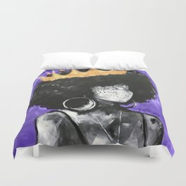 Naturally Queen II PURPLE Duvet Cover