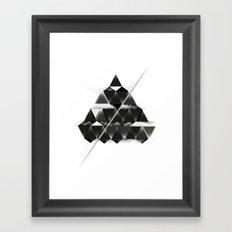PYRAMID_ Framed Art Print