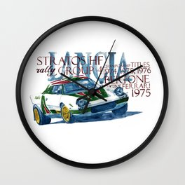 Lancia Stratos HF Wall Clock