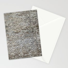 brick wall pattern and texture Stationery Cards
