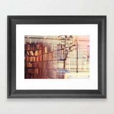 Endless amount of stories Framed Art Print