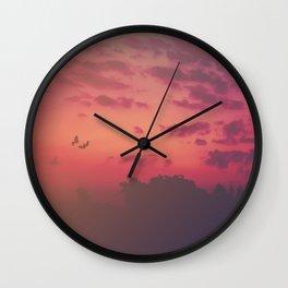 Love Runs Out Wall Clock