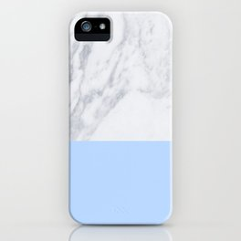 Duck Egg Marble iPhone Case