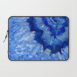Ocean Blue Crystal Laptop Sleeve