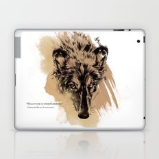 Solitude is independence Laptop & iPad Skin