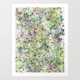 Abstract Artwork Colourful #5 Art Print