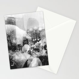Union Square Pillow Fight Stationery Cards
