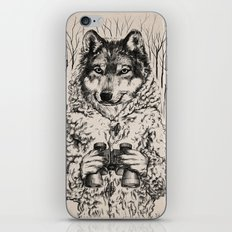 A Wolf in Sheep's Clothing iPhone & iPod Skin