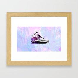 Air Jordan 2 - Stressed Framed Art Print