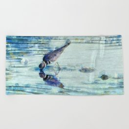 Kildeer Beach Towel