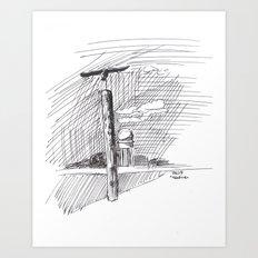 Sculpture at Tempelhofer Feld Art Print