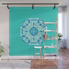 "CA Fantasy ""For Tiffany color"" series #1 Wall Mural"
