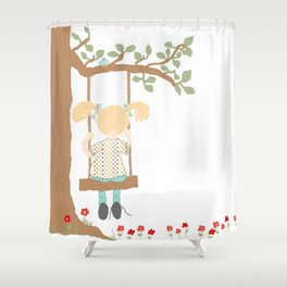 On the Swing, In the Tree Shower Curtain