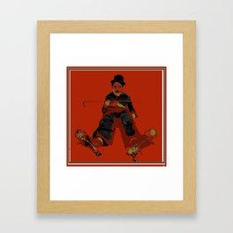 Hey Charlie  Framed Art Print