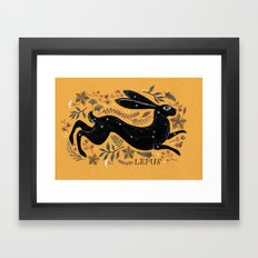 LEPUS Framed Art Print