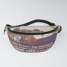 Small village 9 Fanny Pack