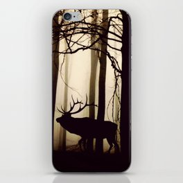Animal Forest Parade (Reindeer, Wild Boar) iPhone Skin