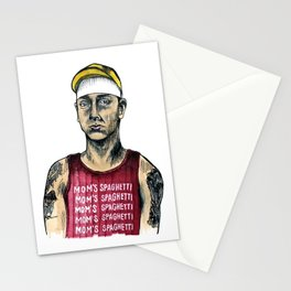 Mom's Spaghetti Stationery Cards