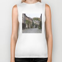 edinburgh Biker Tanks featuring Edinburgh street by RMK Creative