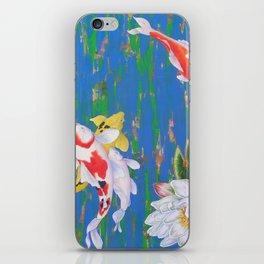 Koi Pond 1 iPhone Skin