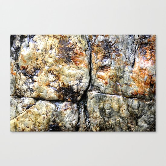 COLORFUL ROCK Canvas Print