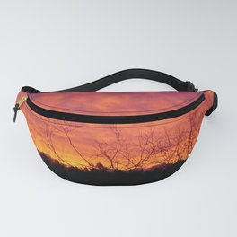 Red Skies Fanny Pack
