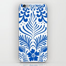 Mexican Folk Floral Ornaments iPhone Skin