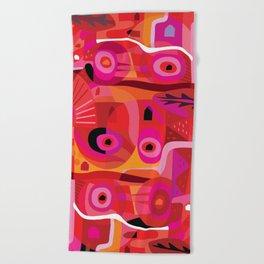 Rosa Mexicana Beach Towel