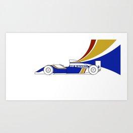Williams FW16 - Trailing Liveries Art Print