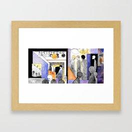 Earthling Ghetto Framed Art Print