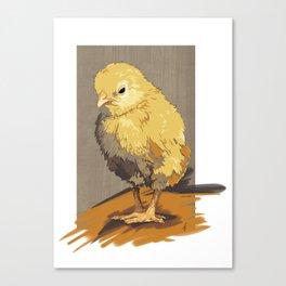 Chickie Canvas Print