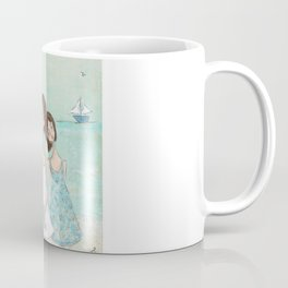 Down by the Shore Coffee Mug