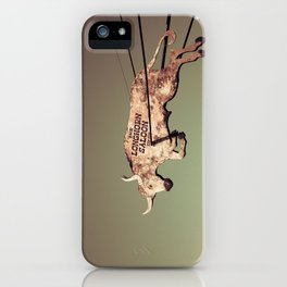 The Longhorn Saloon, Fort Worth Stockyards iPhone Case