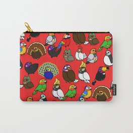 Lucha Birds Carry-All Pouch