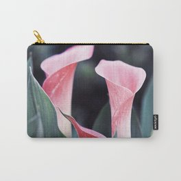 Pink Calla Flowers Carry-All Pouch