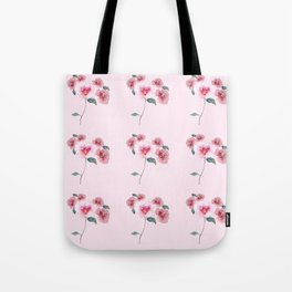 Floral Bouquet Pattern. Roses and a Peony Tote Bag