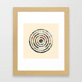 Circles. Framed Art Print