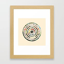 Circles. Framed Art Print